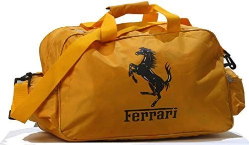 Amazing offer on Ferrari Yellow Logo Duffle Travel Sport Gym Bag Backpack online #newferrari New Ferrari Yellow Logo Duffle Travel Sport Gym Bag Backpack. Fashion Luggage [$49.99] from top store topgreatfashion #newferrari