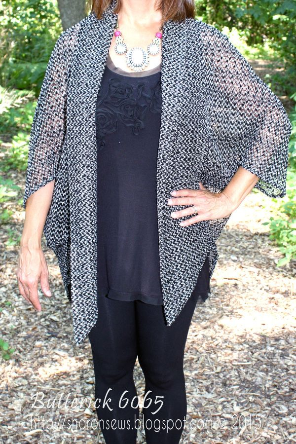 Pattern Reviews> Butterick> 6065 (Misses' Jacket, Top, Dress, Skirt and Pants)