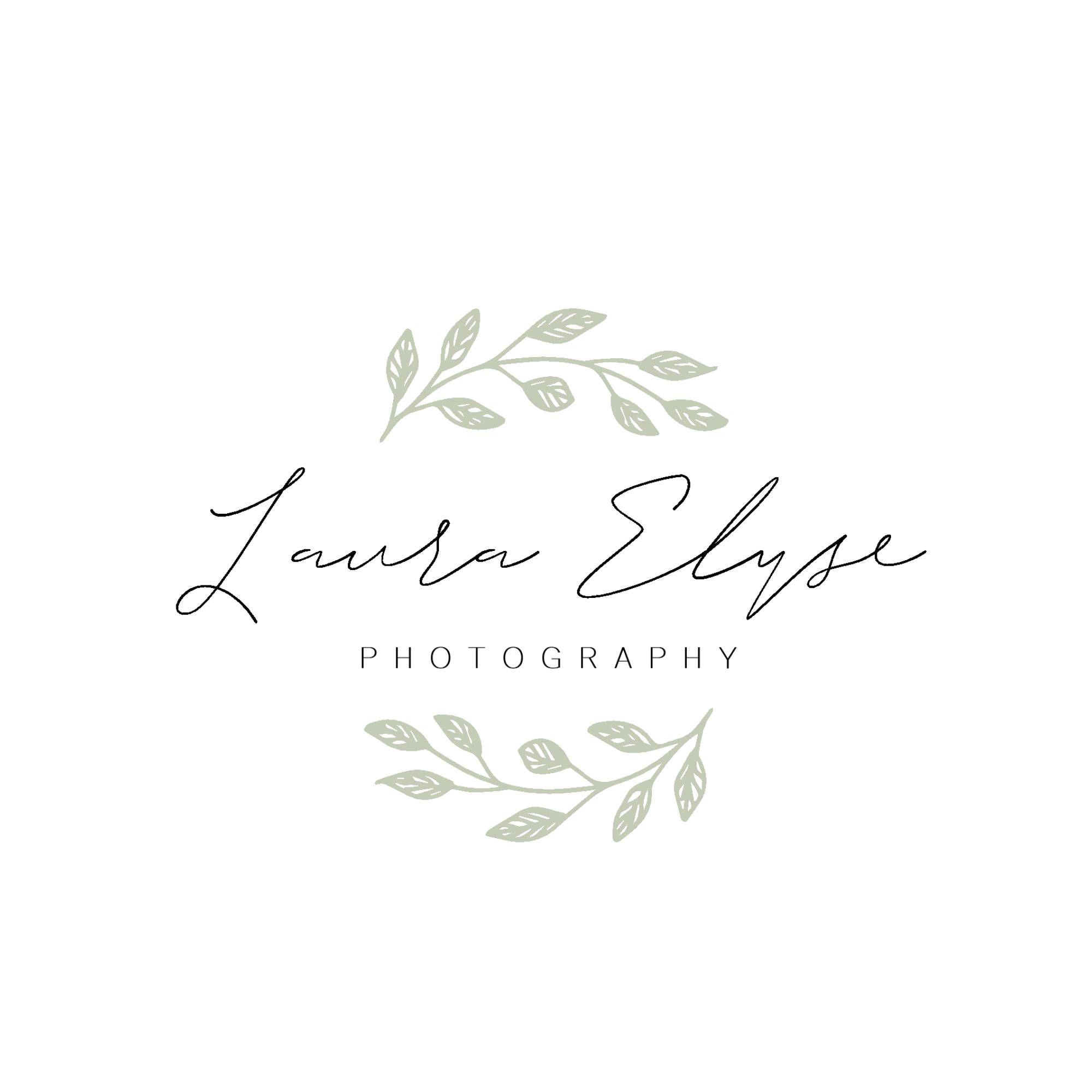 Leaf Logo Design Photography Branding Business Logo Design Etsy Photography Logo Design Photography Branding Business Logo Design