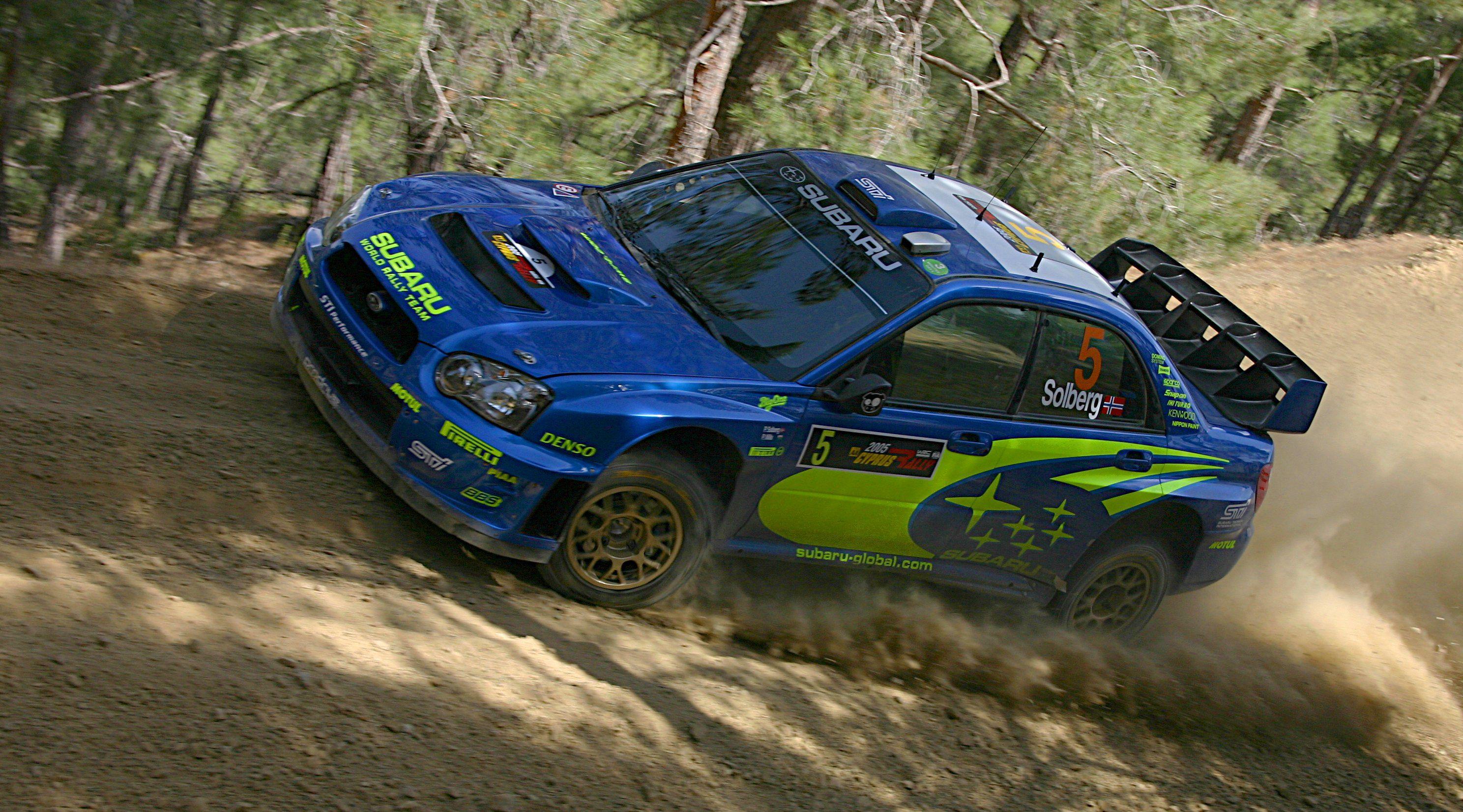 Petter Solberg Subaru Impreza Wrc Subaru Rally Subaru Impreza
