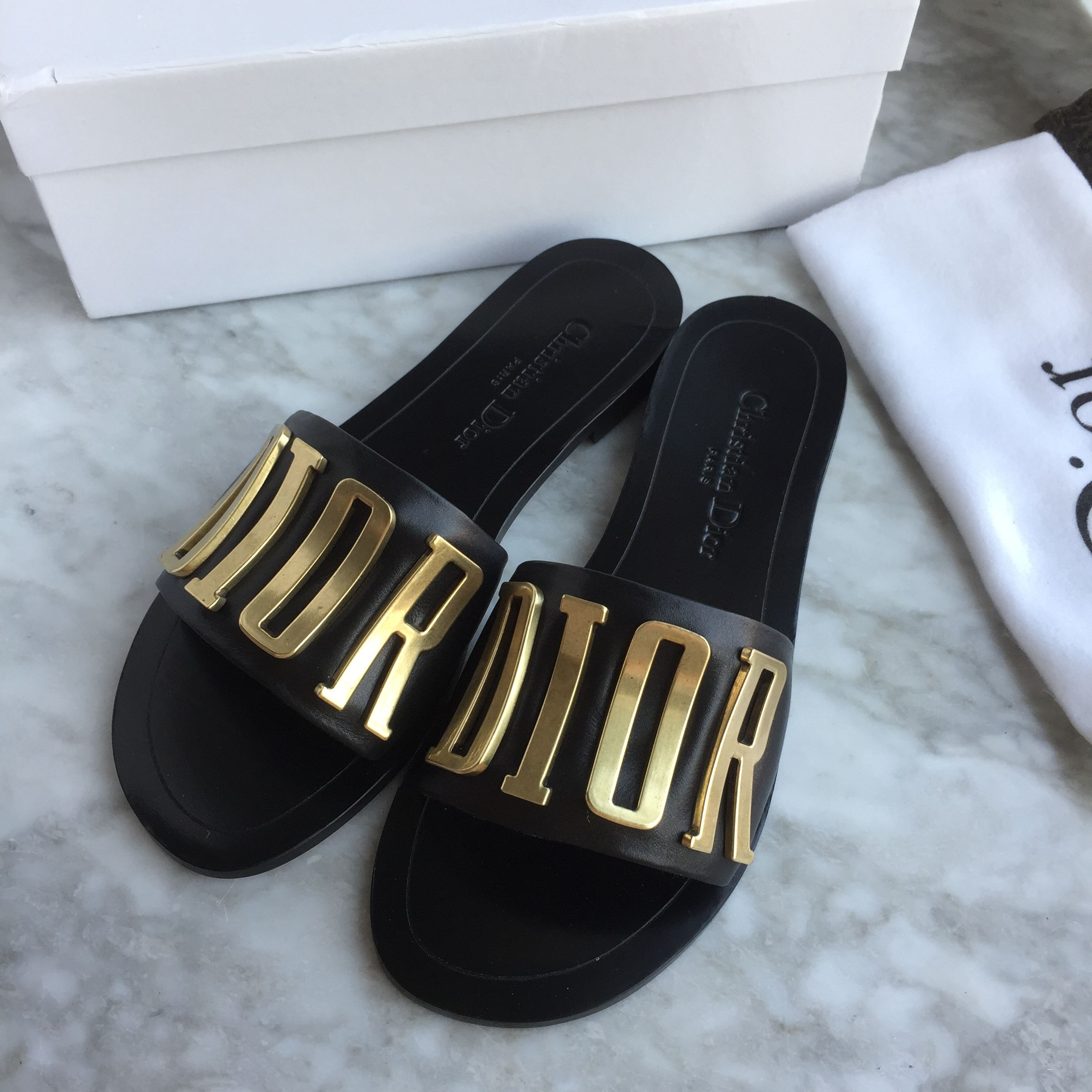price remains stable in stock outlet for sale Dior slippers | Shoes in 2019 | Dior sandals, Dior shoes ...