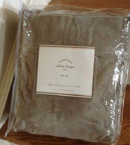 EBay #Sponsored Pottery Barn Velvet Drape Cafe Brown