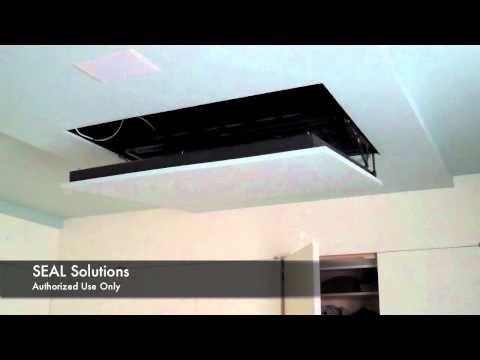 Motorized Flip Down Auton Tv Lift