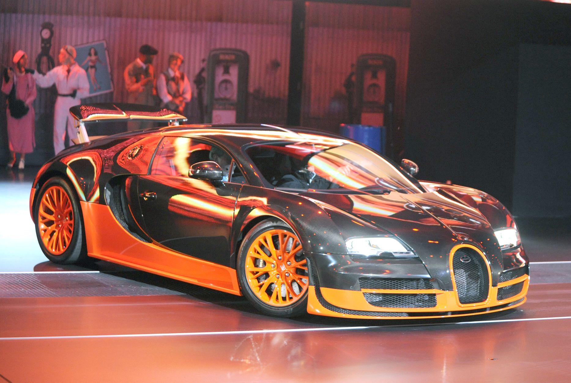 Bugatti Veyron Super Sport Bugatti veyron super sport