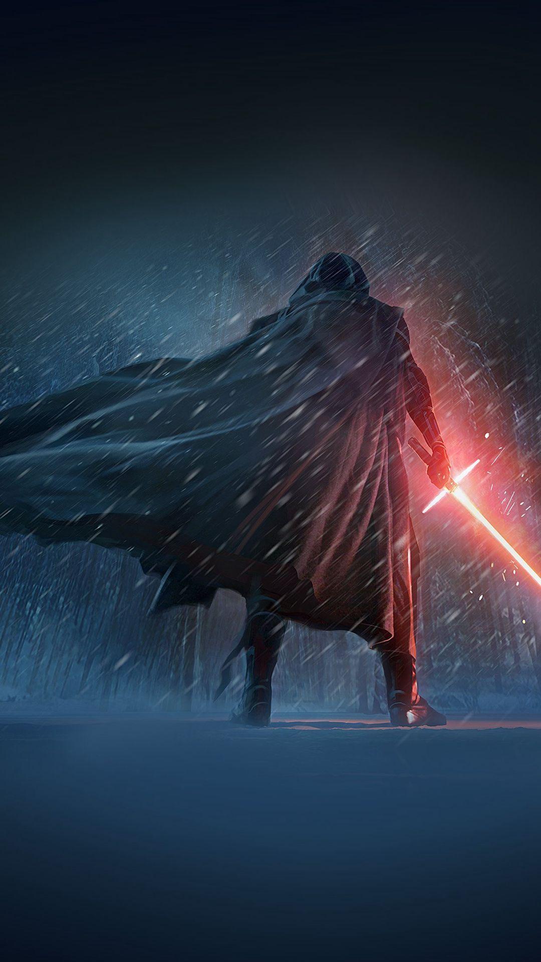 Darth Vader Starwars 7 Poster Film Art iPhone 6 Wallpaper