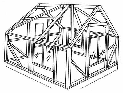 Framing Used By Sweetwater Bungalows Full10x1212x14 Tent Cabin