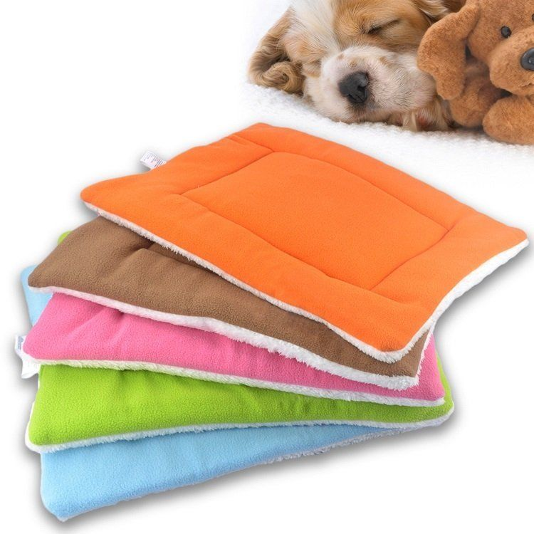 ab18ecb69186 $9.01 - Dog Cat Soft Warm Sleep Crate Mat Fleece Kennel Cushion Pet Blanket  Bed Xl #ebay #Home & Garden
