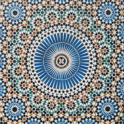 Moroccan Mosaic Tile Designs Tiles Floor Moorish