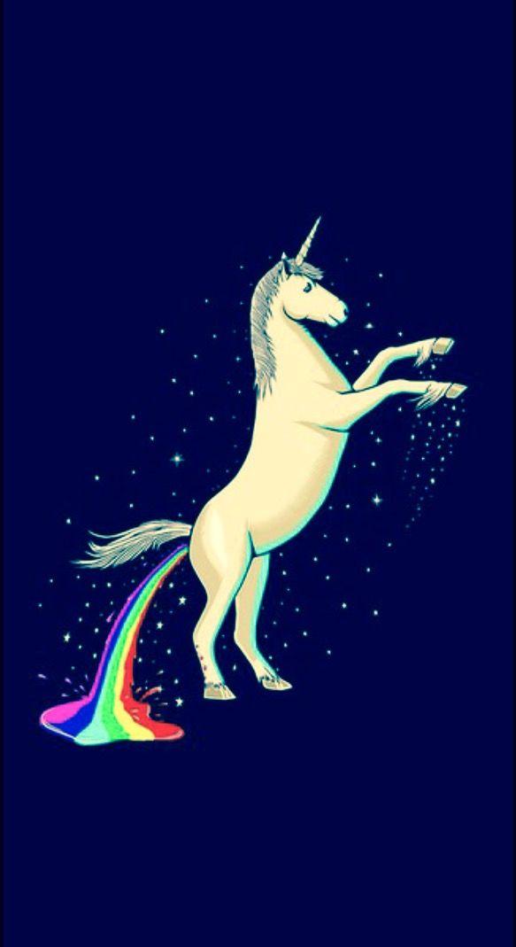 Pooping Unicorn Rainbow Unicorn Wallpaper Backgrounds