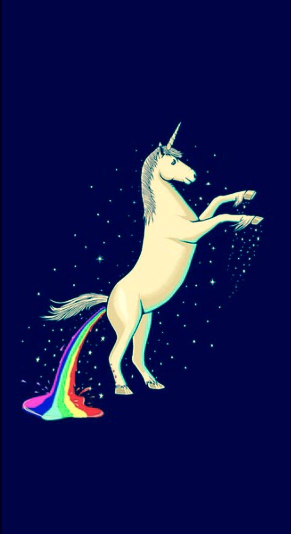 Pooping Unicorn Rainbow Unicorn Wallpaper Rainbow