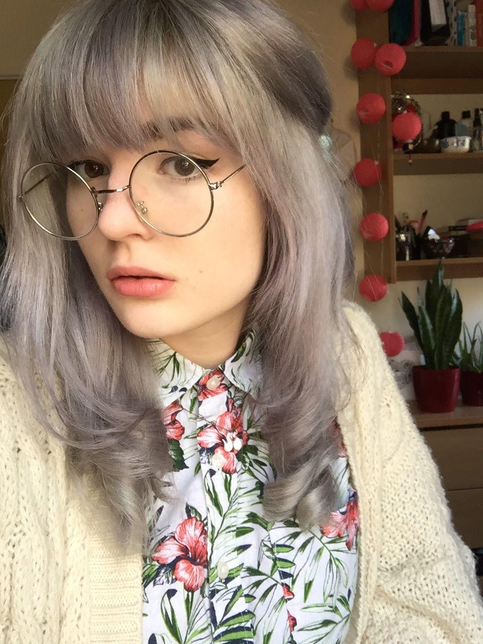 Grey hair | Makki professional hair colouring mask grey review ...