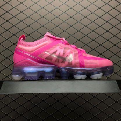 7a094a77689 Cheap Womens Nike Air VaporMax 2019 Pink Silver AR6632-600-3