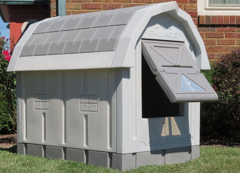 Asl Solutions Insulated And Heated Dog House Insulated Dog House