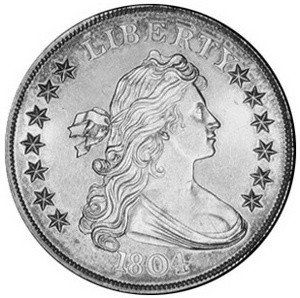 The Fascinating Story Of The Rare 1804 Draped Bust Dollar How To Spot Fake 1804 Silver Dollars Silver Dollar Prices Silver Dollar Silver Coins
