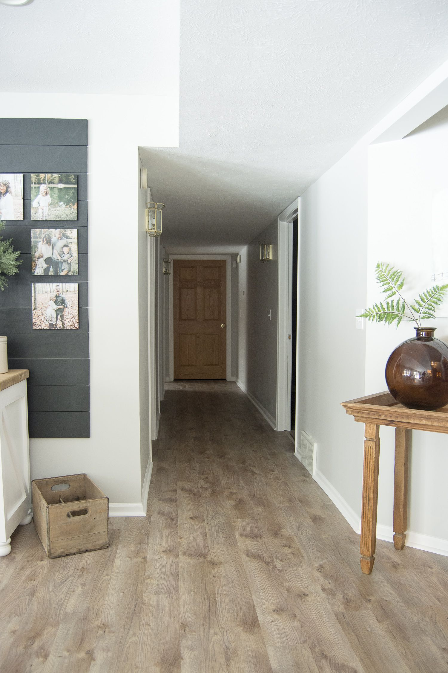 Modern Farmhouse Basement Flooring Basement flooring