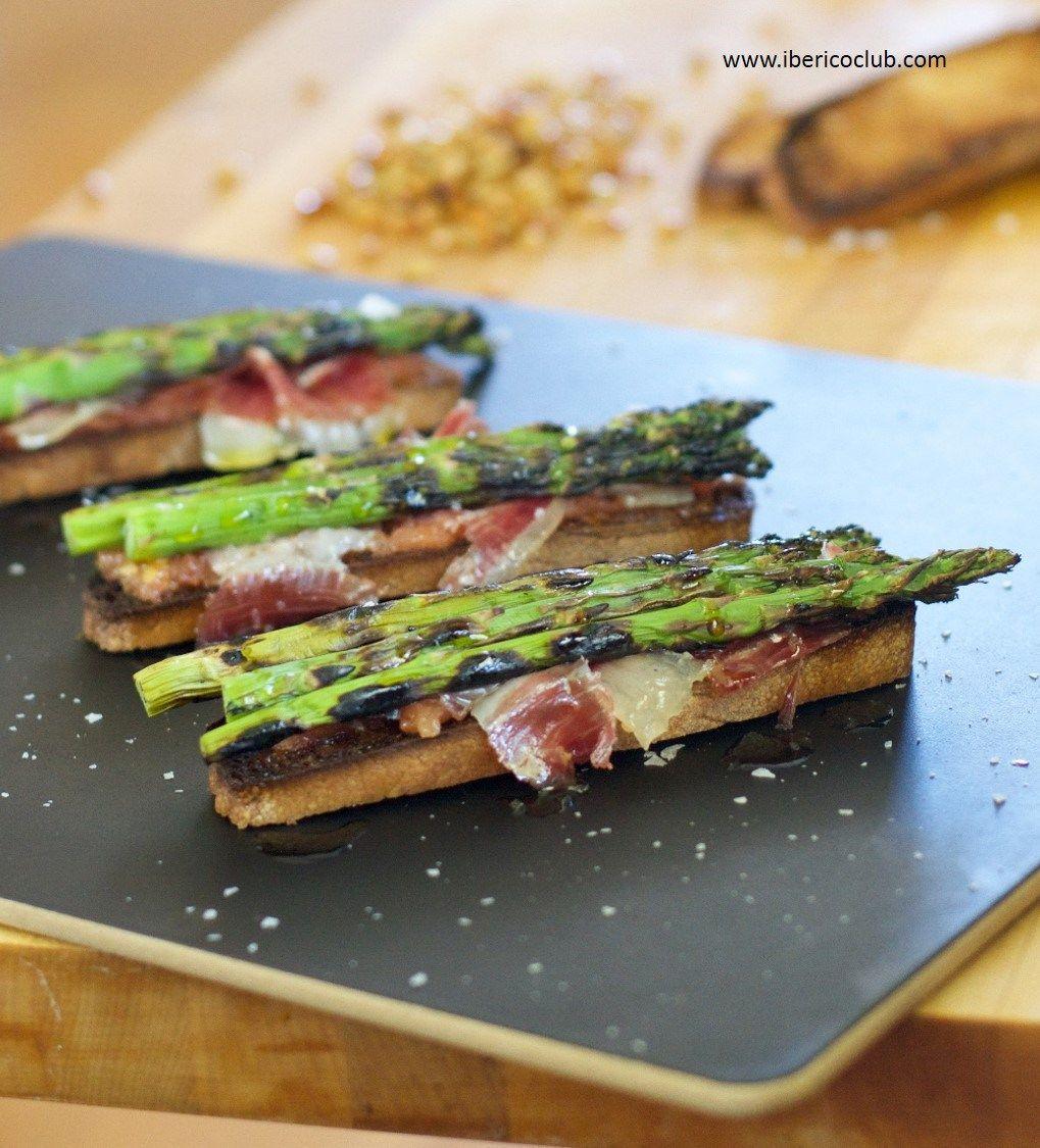 Ibérico Club Blog Food Recipes Grilled Asparagus