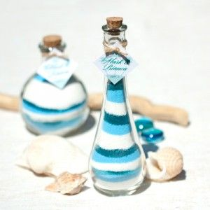 DIY Colored Sand Wedding Favors This Would Look Awesome With Plum And Pumpkin Ash Beach Themed