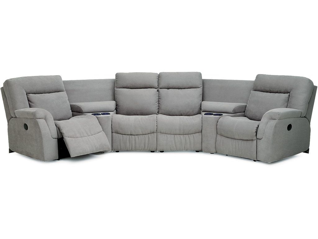 4 Chair Recliner Sofa In 2020 Reclining Sofa Beige Sofa Living