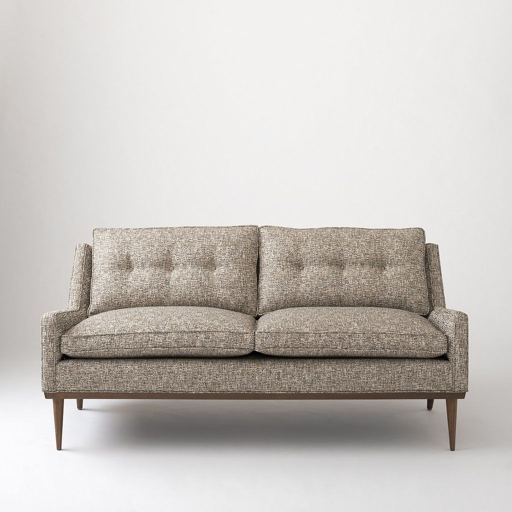 Jack Loveseat Nubby Tweed Love Seat Furniture Sofa Furniture