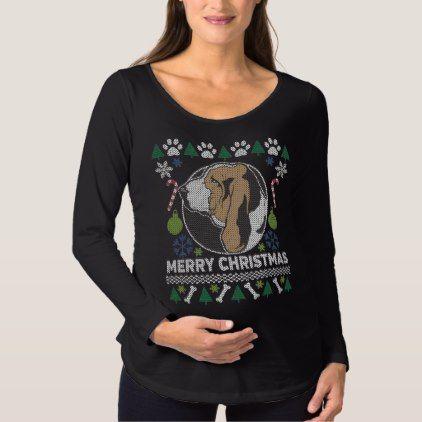 Basset Hound Dog Breed Ugly Christmas Sweater Hound Dog Breeds