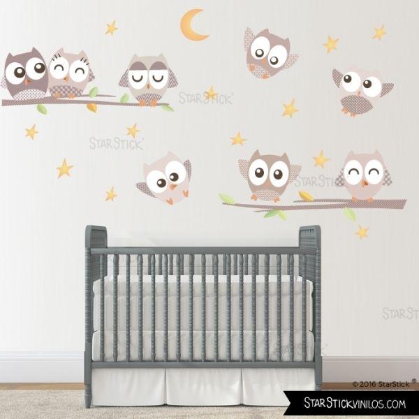 B hos suaves arena vinilos infantiles para beb 45 50 for Sticker habitacion infantil