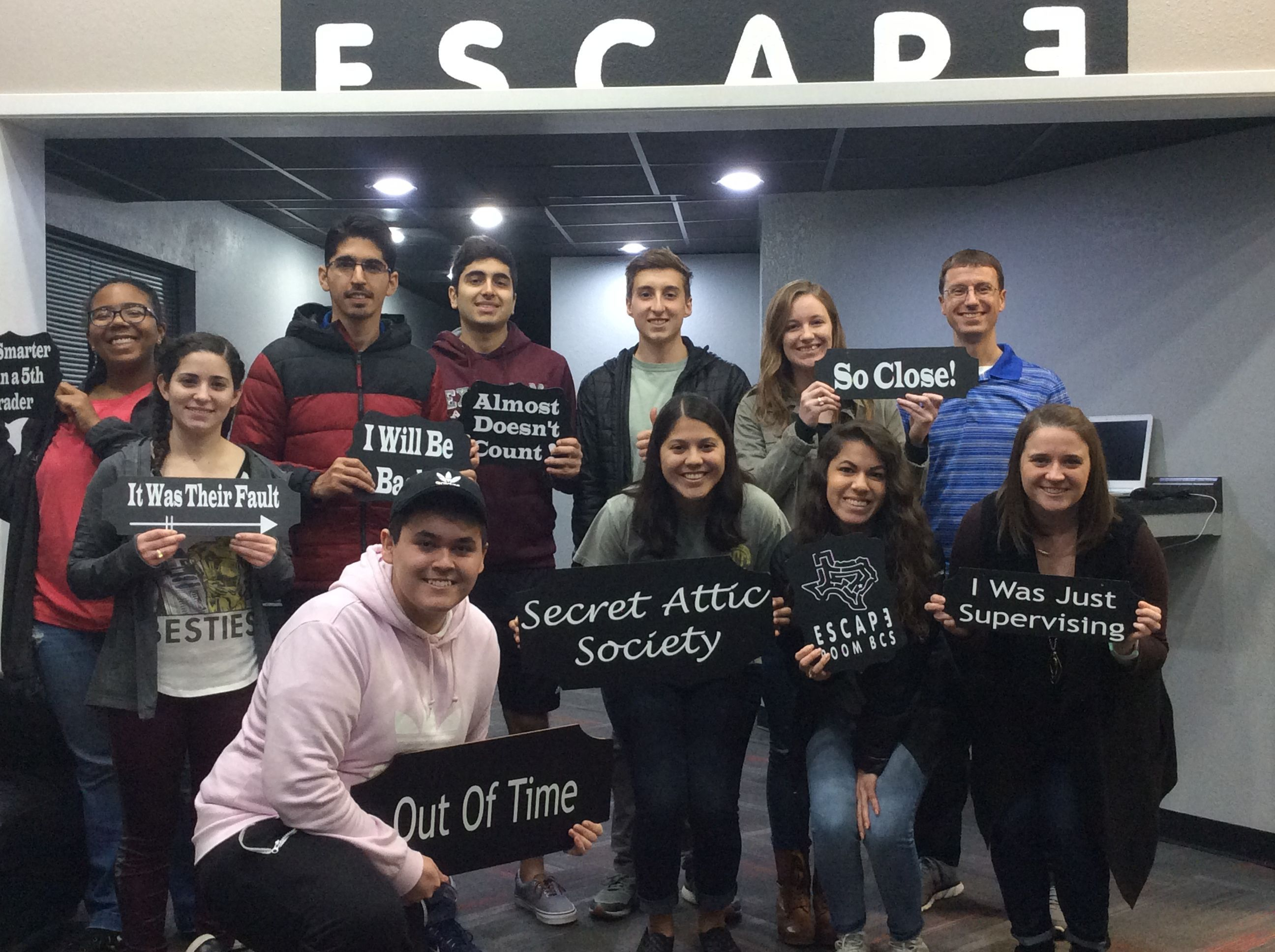 These Hopeful Secret Attic Society Members Better Try Their Luck Next Time The Secret Broadway Shows Society