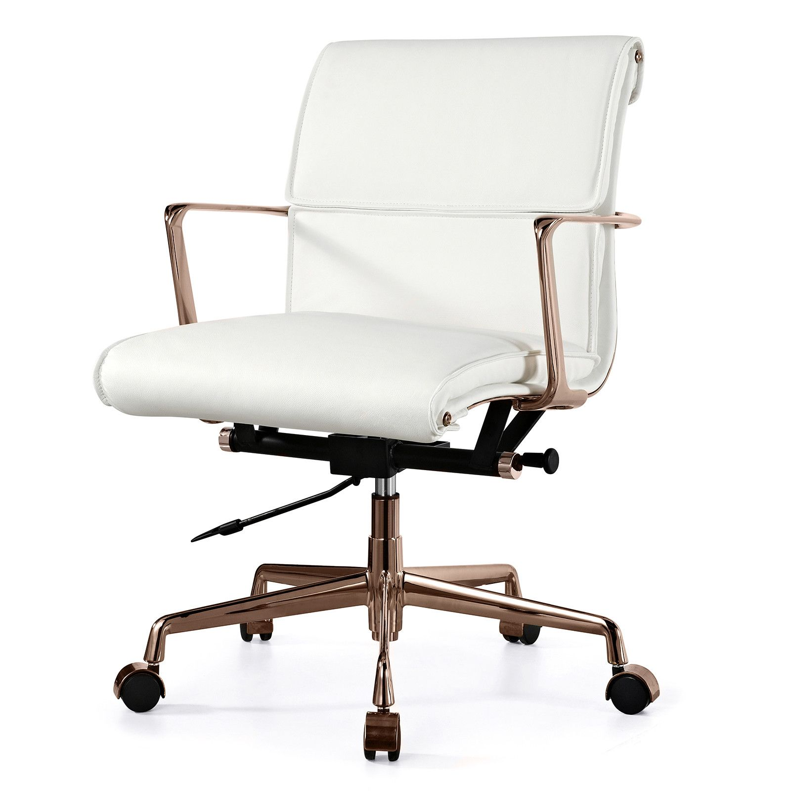 modern office chair leather. Claire Leather Office Chair Modern