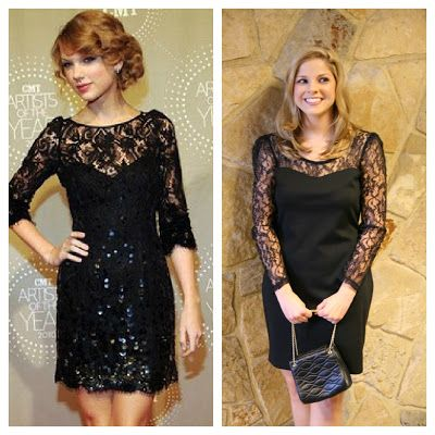 Thrift and Shout blog- Christmas Party Looks from the thrift store inspired by Celebrities! see more at thriftandshout.blogspot.com