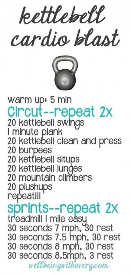 30+ new Ideas fitness workouts for beginners at home kettle bells #fitness #home
