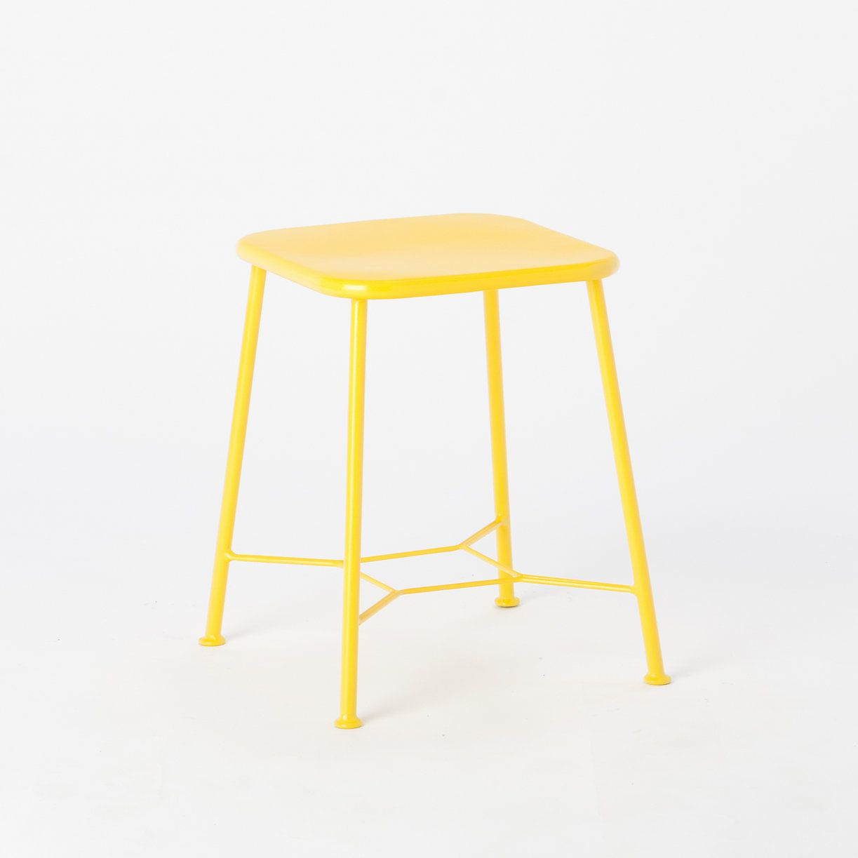 Iron Garden Stool in Outdoor Living FURNITURE + ACCENTS Shop by Collection Colorful Wire at Terrain