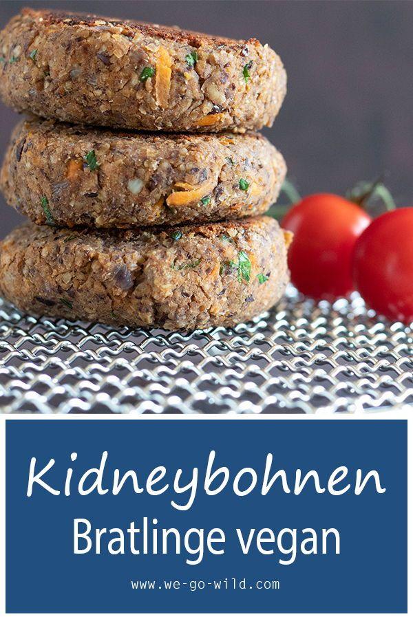 Photo of Juicy kidney bean burger – 10 minutes veggie burger