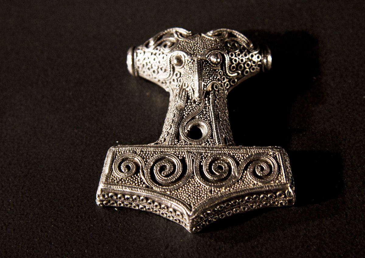 Museum Of Artifacts Thors Hammer Amulet Mjolnir Viking 10th Century AD