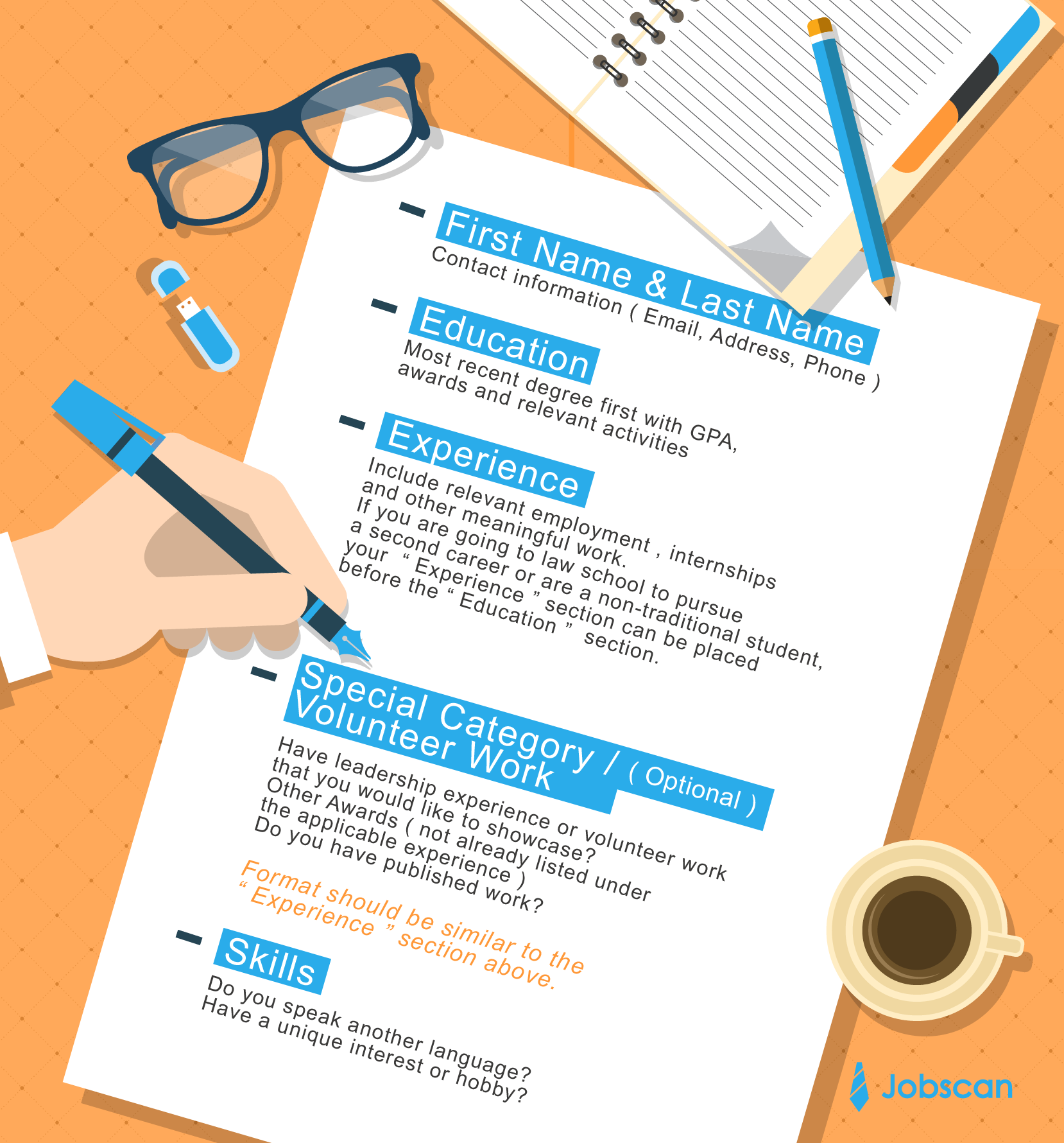 Correct Way To Format A Resume  Jobscan  Resumes And Cover