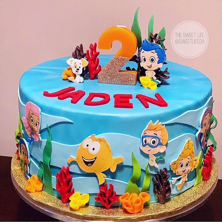 The Sweet Life V Instagram B B Bubble G G Guppies Bubble In 2020 Bubble Guppies Birthday Cake Bubble Guppies Birthday Party Ideas Cake Bubble Guppies Cake