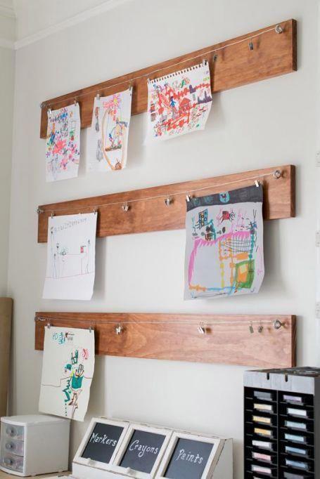 Photo of Las mejores ideas para salas de juegos infantiles: una exhibición de arte de pared de madera #HomeDecorBedroom