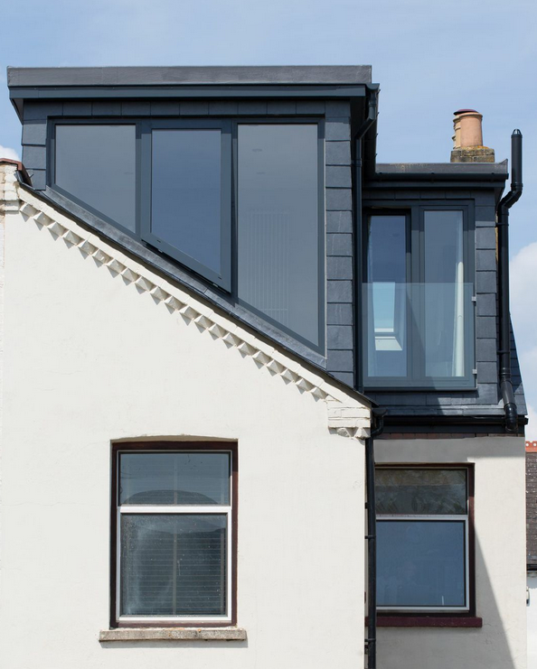 Modern L Shaped Loft Conversion By Holland And Green In 2020 Loft Conversion Victorian Terrace Dormer Loft Conversion Loft Conversion Plans