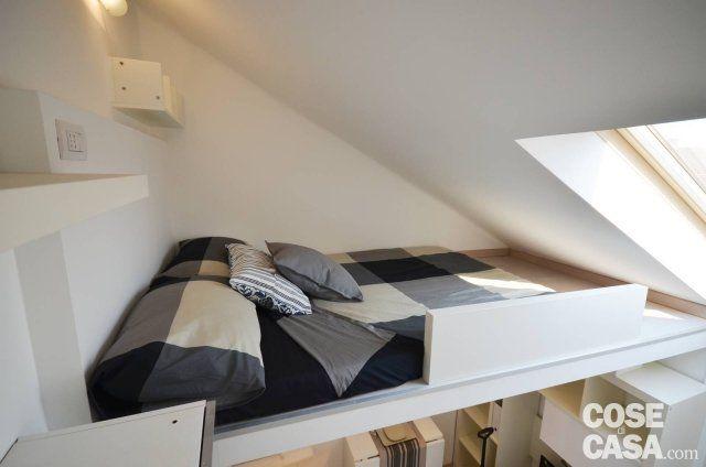 foto8-Mansardina-Ampere-Verde-Mela | Camere da letto | Pinterest