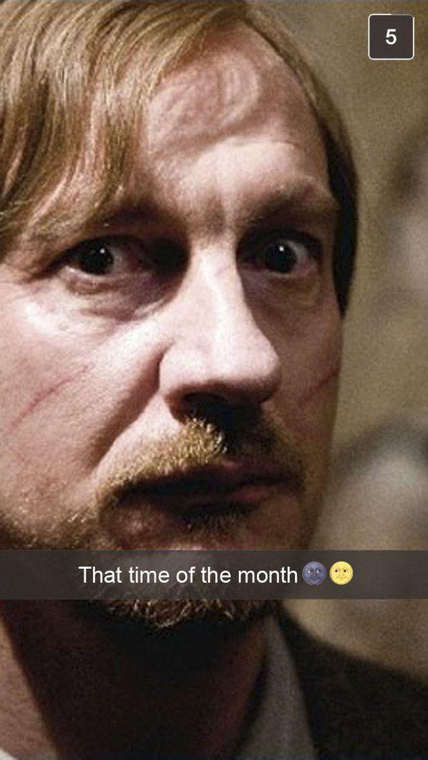 25 Snapchats From Hogwarts Professors Hogwarts Professors Harry Potter Harry Potter Obsession