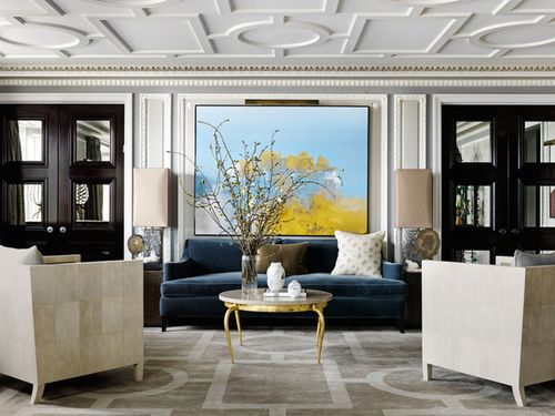 A Chicago Apartment designed by Jean-Louis Deniot