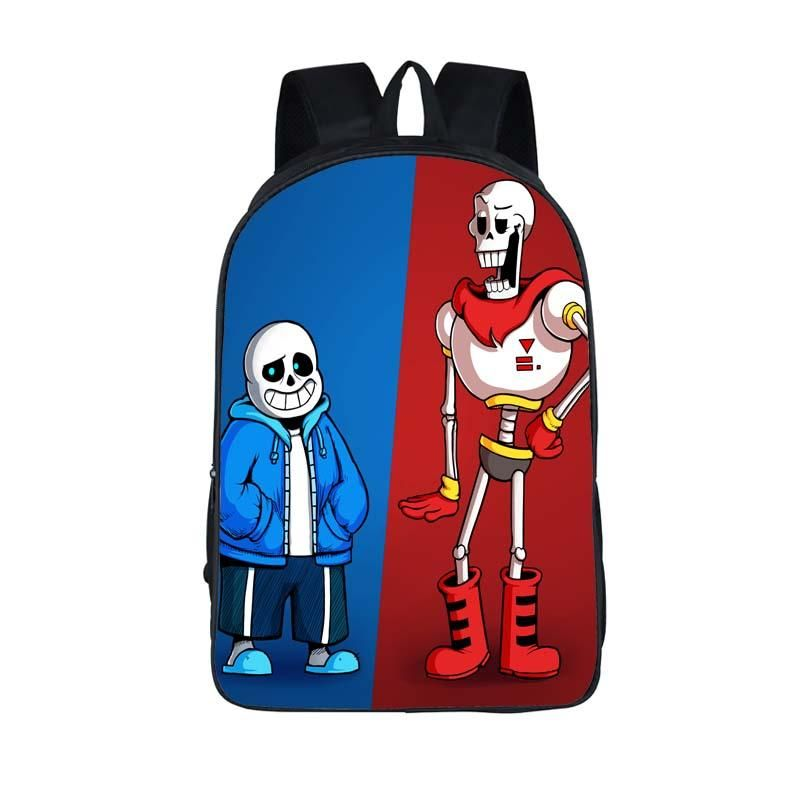 825521f648 Undertale Printing Backpack Children Book bag Shoulder Backpacks