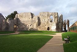 Reading Abbey, Reading, Berkshire - Cluniac Order - Dissolved 1538