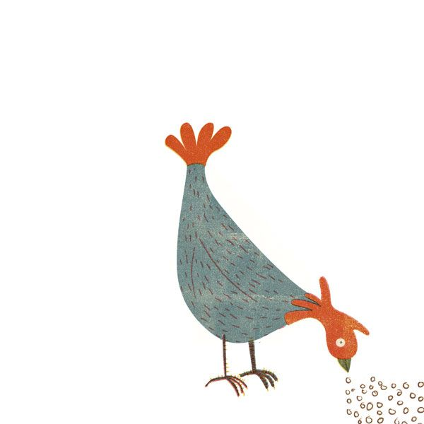 Peck, peck Peck!