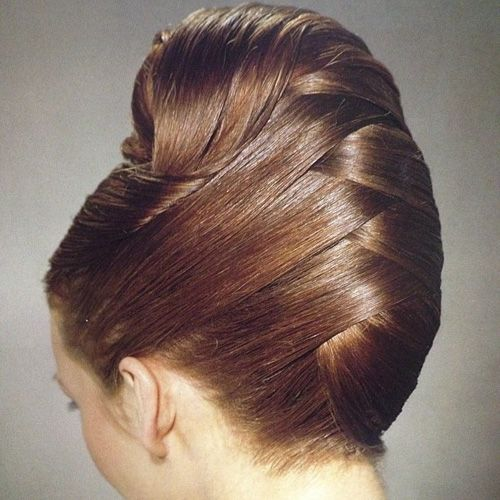French Hairstyles 21 Feminine Ways To Wear The French Twist This Fall  Pinterest