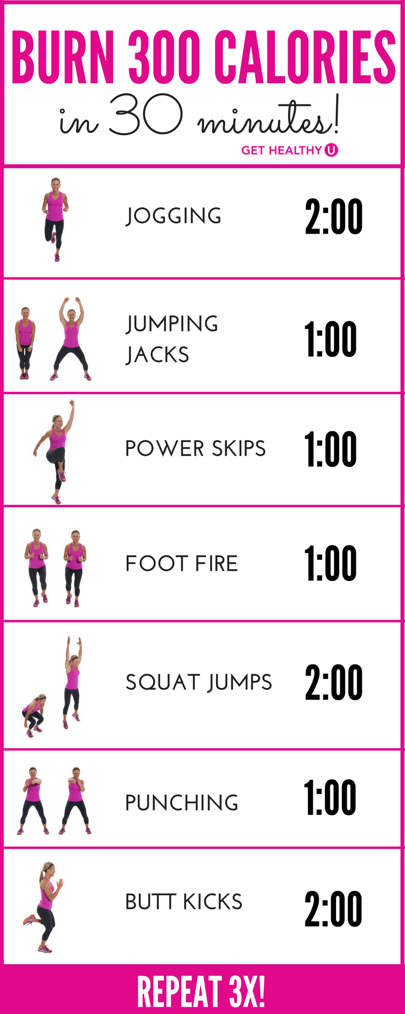 burn 300 calories with this bodyweight workout crazy for cardio pinterest abnehmen. Black Bedroom Furniture Sets. Home Design Ideas