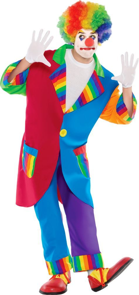 Adult Ringmaster Clown Costume , Party City 29.99