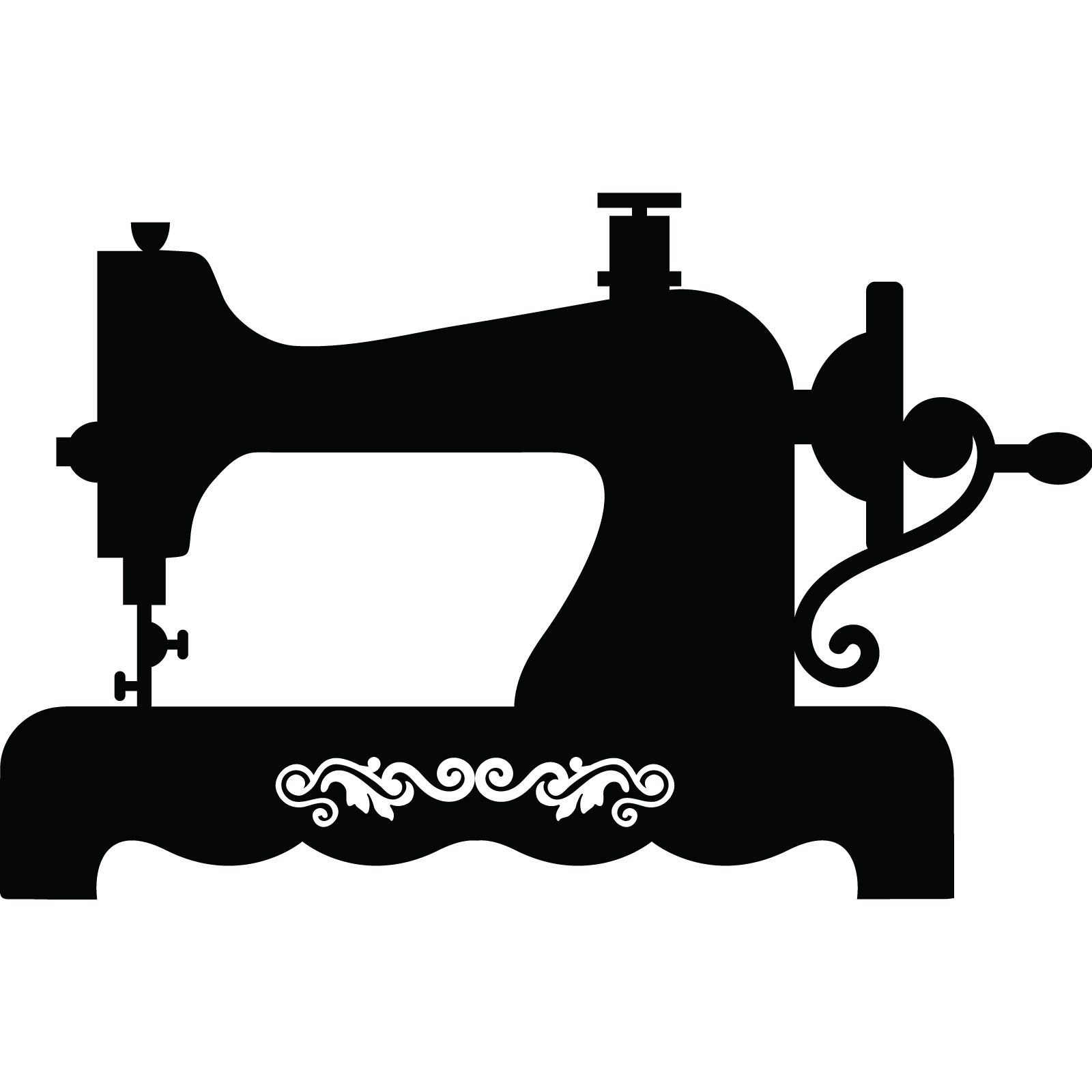 Image Result For Vintage Sewing Machine Silhouette