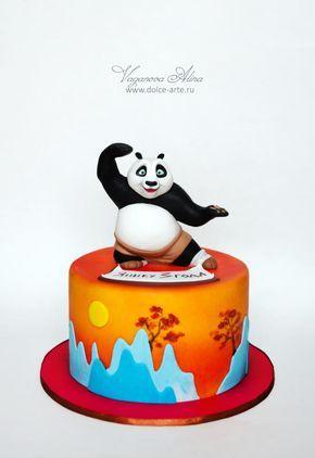 Kung Fu Panda Cake By Alina Vaganova With Images Kung Fu Panda