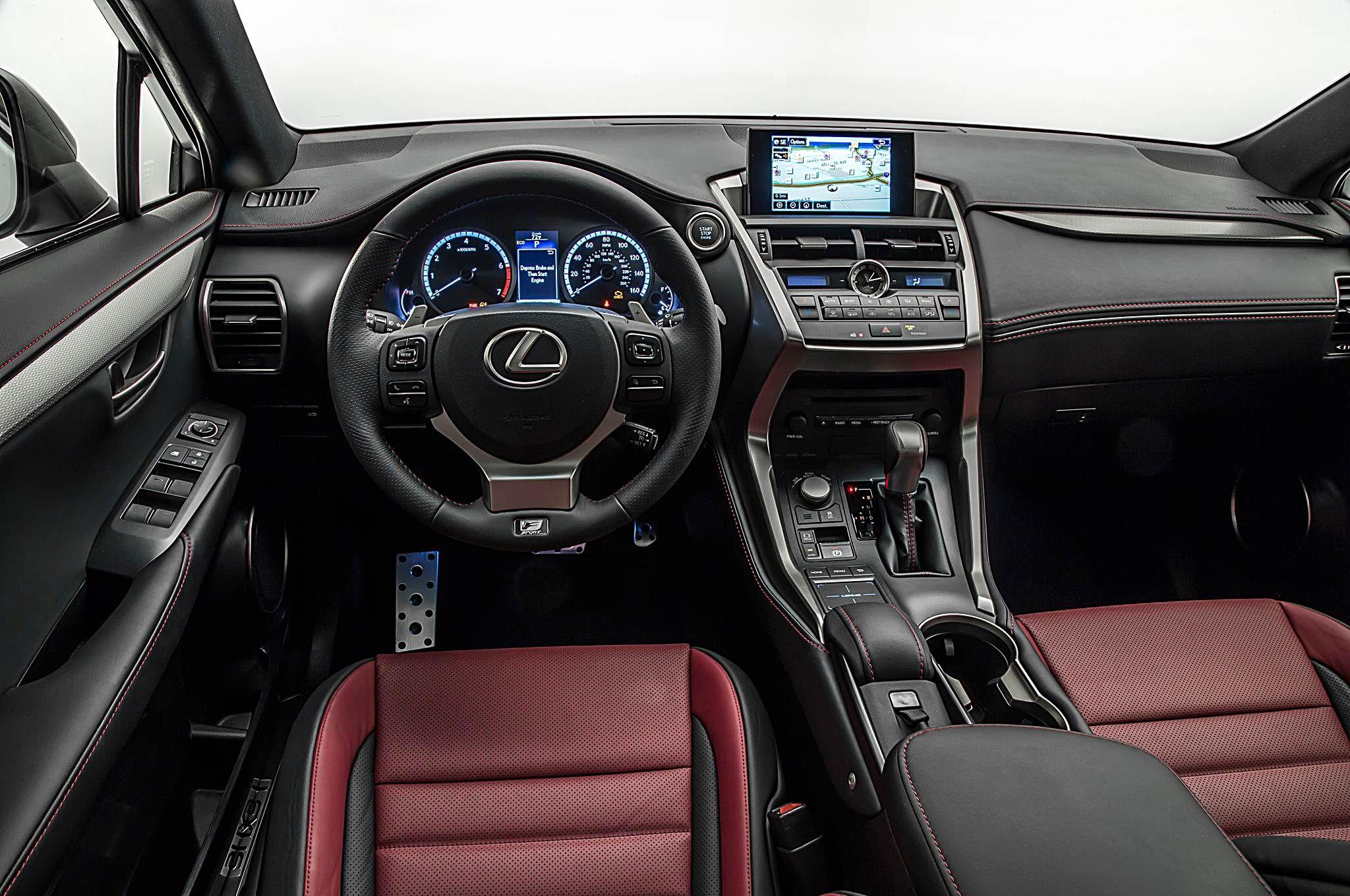 2015 Lexus Nx200t F Sport Interior Garage