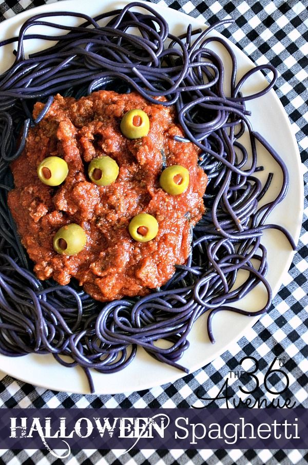 halloween recipe make this halloween spaghetti recipe it is perfect for parties and kids - Scary Halloween Meatballs