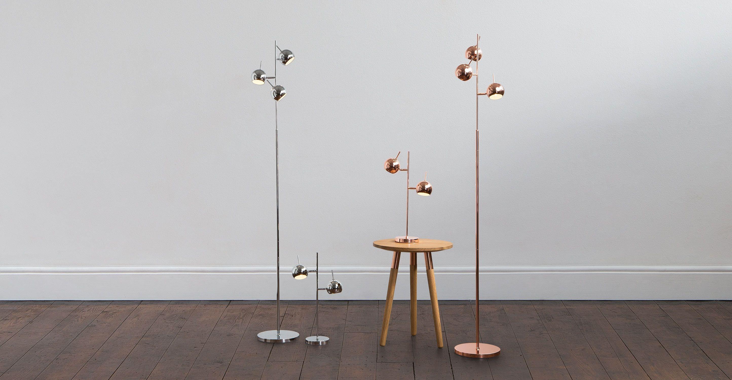 Austin Floor Lamp, Copper from Made.com. Metallic. Express ...